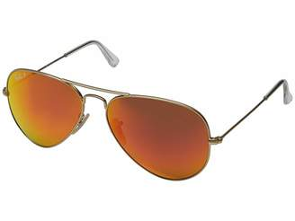 86d75b0ab97 Ray-ban Aviator Sunglasses With Mirrored Lenses - ShopStyle