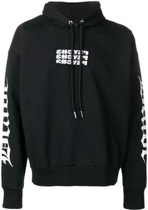 Diesel Psyche print hoodie