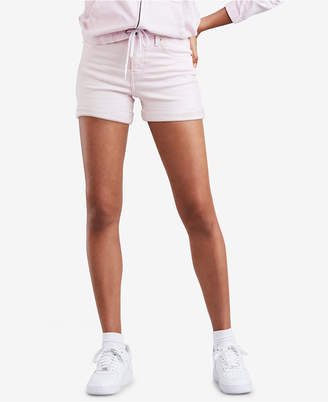 Levi's Wedgie High-Rise Denim Shorts