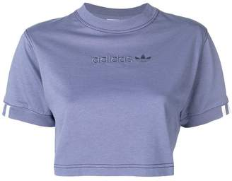 adidas Coeeze cropped T-shirt