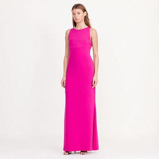 Ralph Lauren Cutout-Back Crepe Gown $160 thestylecure.com