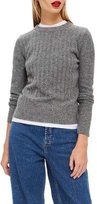 Topshop Rib Sweater