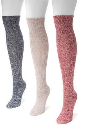 Muk Luks Marled Knee High Socks