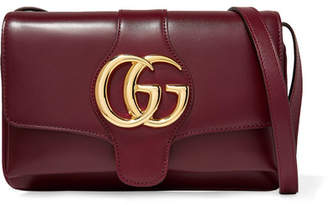 f2d5dcc7484 Gucci Arli Small Leather Shoulder Bag - Burgundy