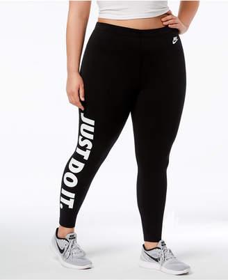 Nike Plus Size Sportswear Just Do It Leggings