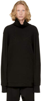 D.gnak By Kang.d Black Cleaved Point Turtleneck