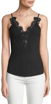 Givenchy Women's Macramé Lace Tank Top