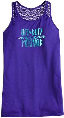 """So Girls 7-16 & Plus Size SO """"Off Duty Mermaid"""" Swimsuit Cover-Up"""
