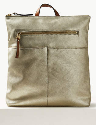 Marks and Spencer Suede Backpack Bag