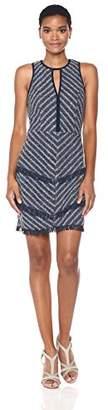 Adelyn Rae Women's Hazel Woven Jacquard Sheath Dress