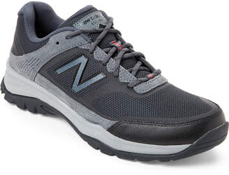 New Balance Grey 669 Low-Top Knit Sneakers