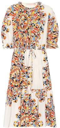 Tory Burch Arabella printed silk dress