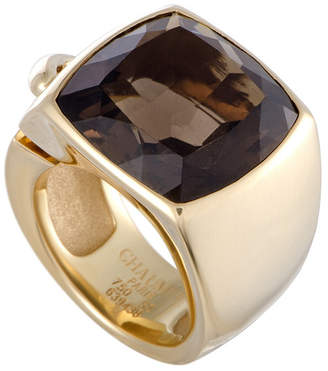 Chaumet Heritage  18K Yellow Gold Topaz Ring