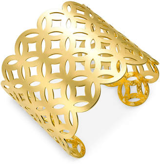 INC International Concepts I.n.c. Gold-Tone Lattice Cuff Bracelet, Created for Macy's
