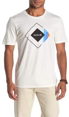 Hurley Premium Prism Graphic Logo T-Shirt
