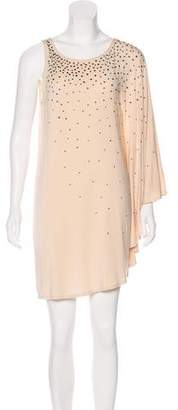 Haute Hippie Asymmetrical Mini Dress