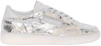 Club C 85 Hype Printed Leather Sneakers