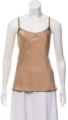 Gucci Embellished Silk Camisole