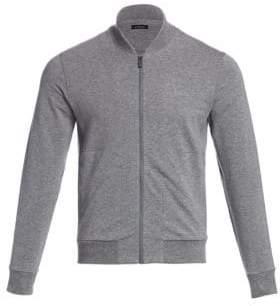 Ermenegildo Zegna Cotton Zip-Front Sweatshirt