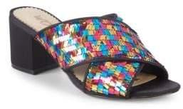 Sam Edelman Stanley Embellished Crisscross Sandals