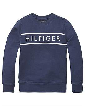 Tommy Hilfiger 3D Embroidery Sweatshirt (Boys 8-14 Years)