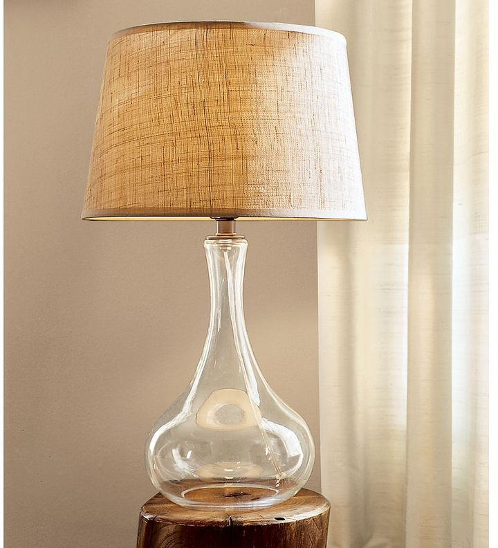 Blown Glass Table Lamp Base
