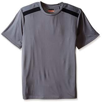 PGA TOUR Men's Golf Performance Gear Hybrid Color Block Ventilated Sport Shirt