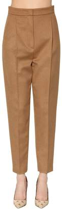 Max Mara Olaf High Waist Camel Pants