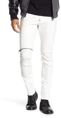 "G Star 5620 3D Zip Knee Skinny Jeans - 32\"" Inseam"