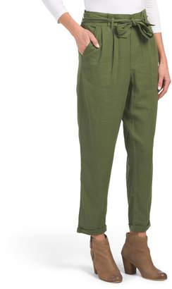 Juniors Paperbag Waist Trousers