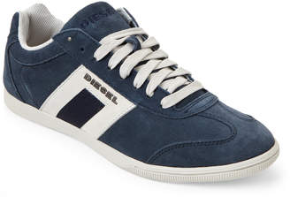 Diesel India Ink & Silver Happy Hours Vintagy Lounge Sneakers