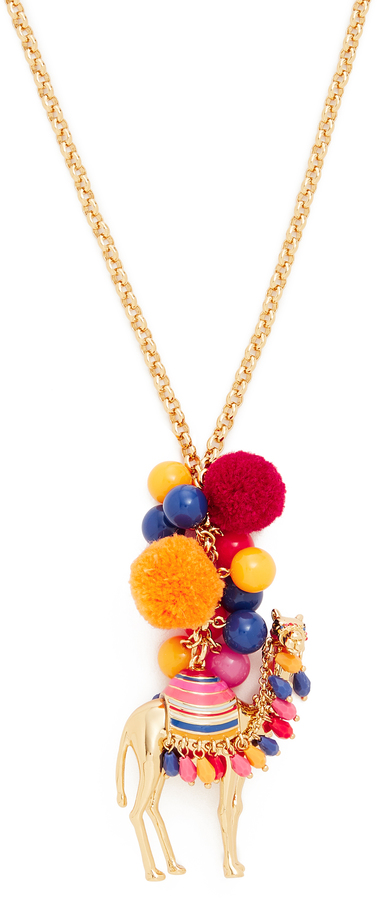Kate Spade Kate Spade New York Spice Things Up Camel Pendant Necklace