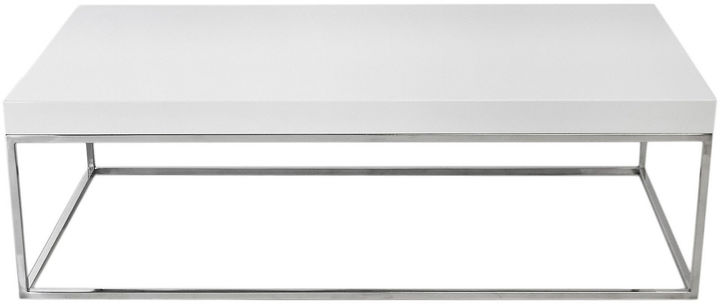 Pangea Fred Coffee Table, White Lacquer