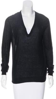 Joseph Long Sleeve Cashmere Top