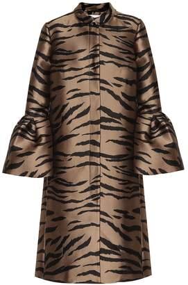 Carolina Herrera Jacquard coat