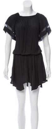 Ramy Brook Ruched Mini Dress