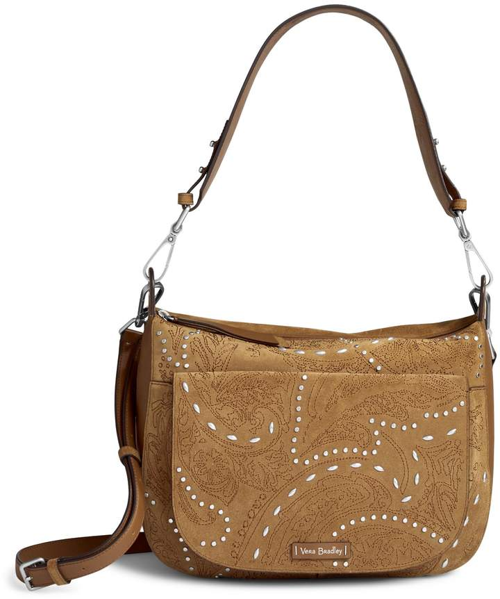 Vera Bradley Carson Shoulder Bag - GALLATIN TOASTED HAZELNUT - STYLE