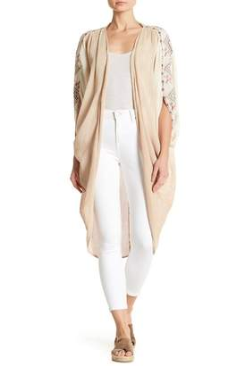 Z&L Europe Netted Embroidered Cardigan