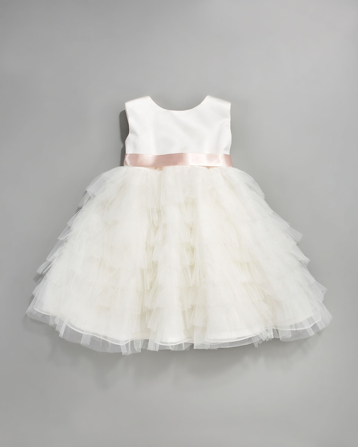 Joan Calabrese Tiered-Ruffle Dress
