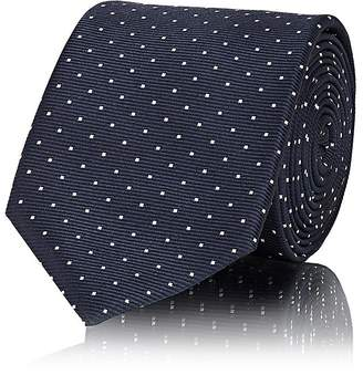 Lanvin Men's Polka Dot Silk Necktie