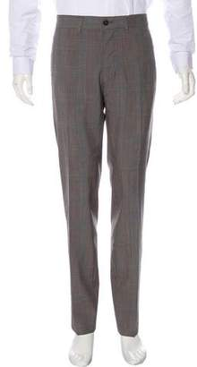 Massimo Alba Watercolor Wool Pants