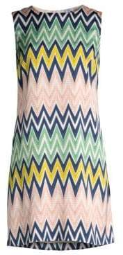 M Missoni Printed Chevron Dress
