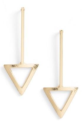 Women's Ettika Triangle Drop Earrings $30 thestylecure.com