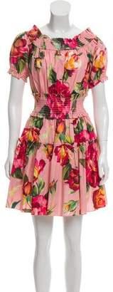 Dolce & Gabbana 2017 Printed Dress
