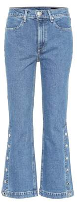 Rag & Bone Dylan high-waisted cropped jeans