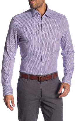Stone Rose Geometric Long Sleeve Shirt