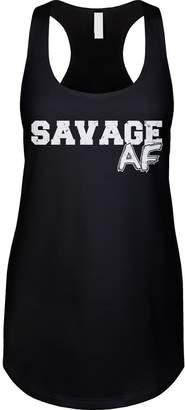 Abercrombie & Fitch Blittzen Womens Tank Savage AF, M