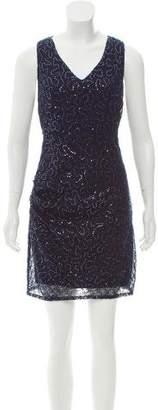 Alice + Olivia Sequin Embellished Dress