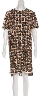 Marni Lace Polka Dot Dress