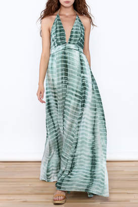 Hommage The Rayna Tie Dye Maxi